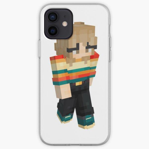 Niki nihachu minecraft skin iPhone Soft Case RB0107 product Offical Nihachu Merch