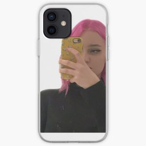 Niki nihachu pink hair  iPhone Soft Case RB0107 product Offical Nihachu Merch