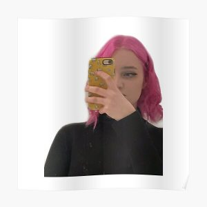Niki nihachu pink hair  Poster RB0107 product Offical Nihachu Merch