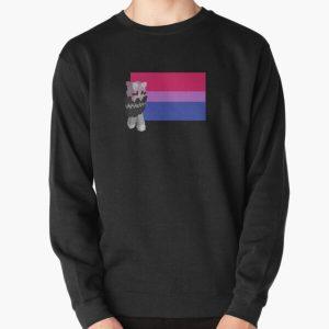 niki nihachu bisexual pride  Pullover Sweatshirt RB0107 product Offical Nihachu Merch