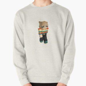 Niki nihachu minecraft skin Pullover Sweatshirt RB0107 product Offical Nihachu Merch