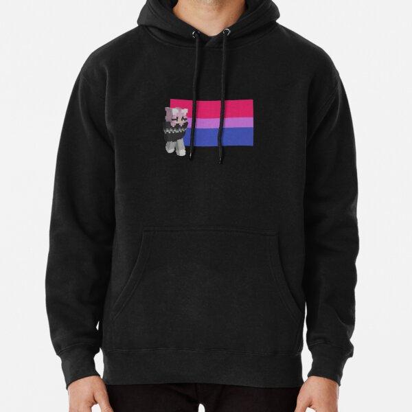 niki nihachu bisexual pride  Pullover Hoodie RB0107 product Offical Nihachu Merch