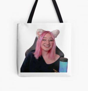 Niki nihachu cat girl cute  All Over Print Tote Bag RB0107 product Offical Nihachu Merch