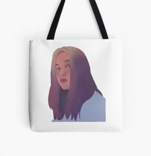 niki nihachu sticker All Over Print Tote Bag RB0107 product Offical Nihachu Merch