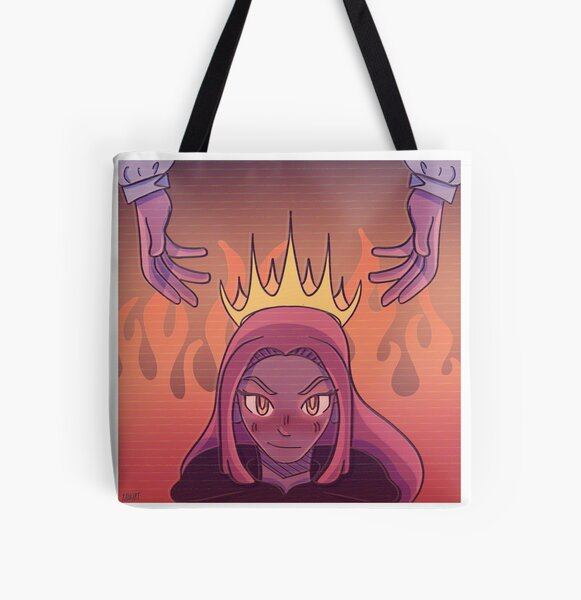 Niki Nihachu, Anarchy Queen All Over Print Tote Bag RB0107 product Offical Nihachu Merch