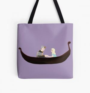 (Tangled) Wilbur & Niki All Over Print Tote Bag RB0107 product Offical Nihachu Merch