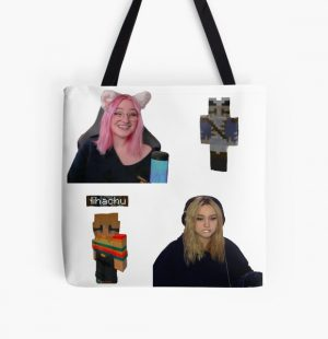 Nihachu niki pack All Over Print Tote Bag RB0107 product Offical Nihachu Merch