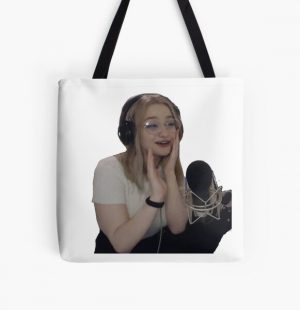Niki nihachu cute happy All Over Print Tote Bag RB0107 product Offical Nihachu Merch