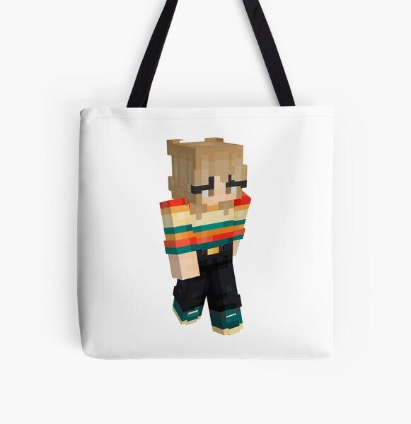 Niki nihachu minecraft skin All Over Print Tote Bag RB0107 product Offical Nihachu Merch