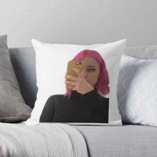 Niki nihachu pink hair  Throw Pillow RB0107 product Offical Nihachu Merch