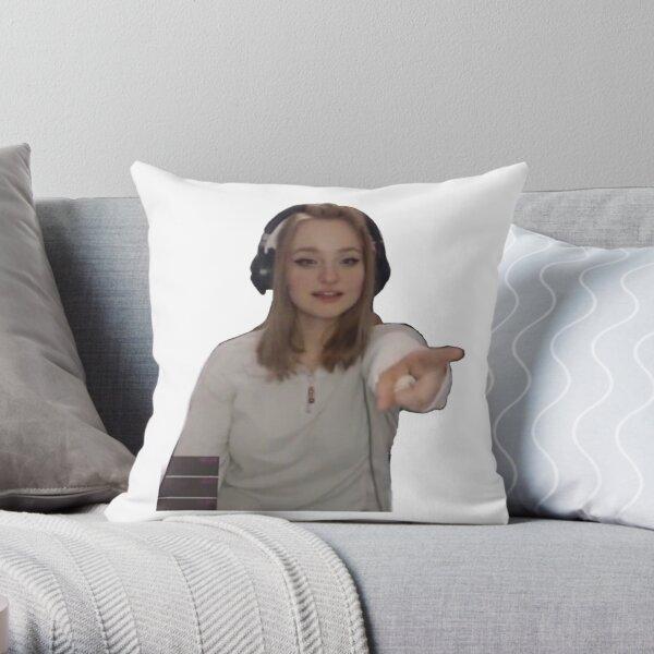 Niki nihachu cute  Throw Pillow RB0107 product Offical Nihachu Merch