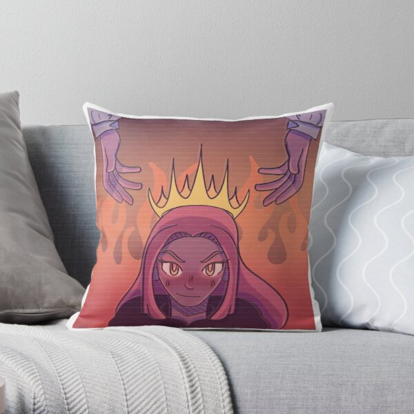 Niki Nihachu, Anarchy Queen Throw Pillow RB0107 product Offical Nihachu Merch