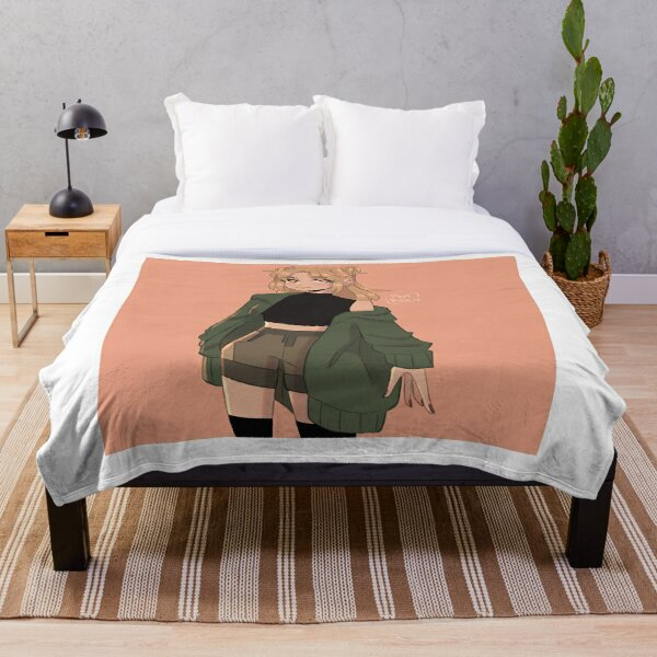 Niki Nihachu Fanart Throw Blanket RB0107 product Offical Nihachu Merch